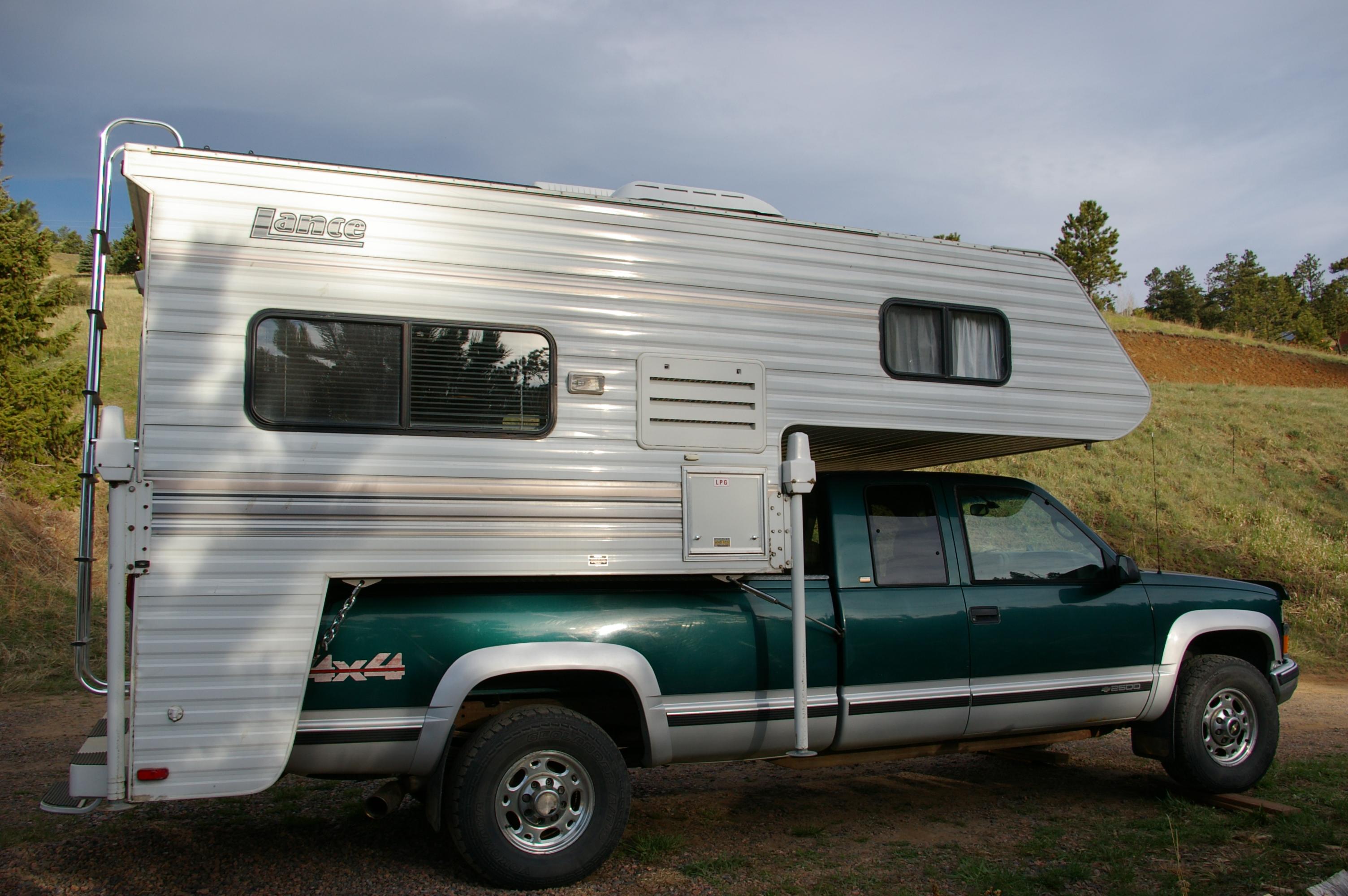 Living in a truck camper full time
